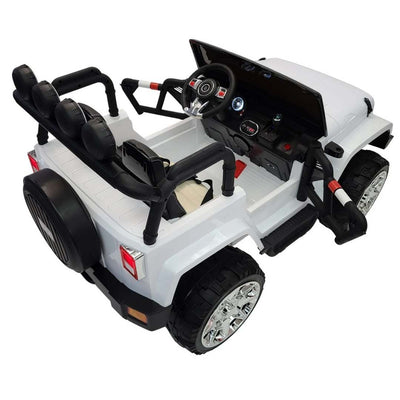 Jeep Wrangler Off-Road Inspired XL 2x12V Kids 2-Seater Ride-On Jeep Car
