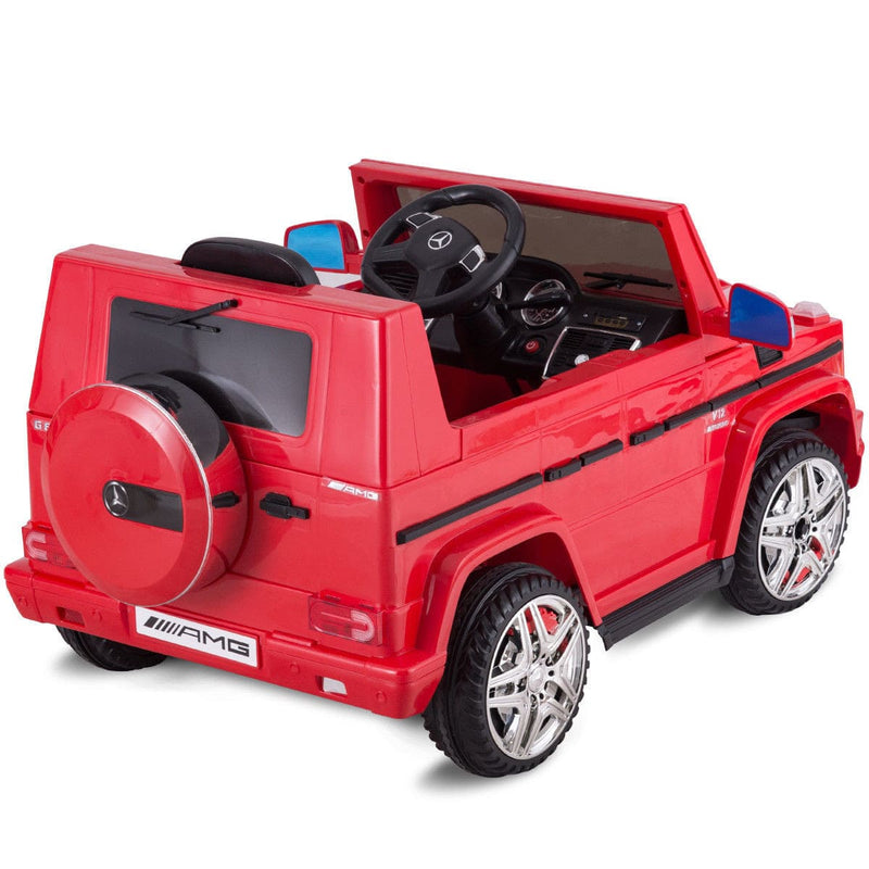 Classic Mercedes Benz G65 SUV Licensed Kids Ride On Car with Remote Control - FREE SHIPPING