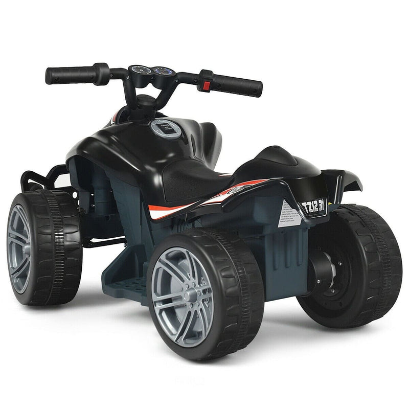 Kids 6v Mini 4-Wheeler ATV Quad Battery Powered Ride On Car