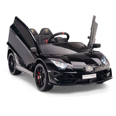 Lamborghini Aventador SVJ Roadster 1-Seater 12v Kids Ride-On Car with Remote