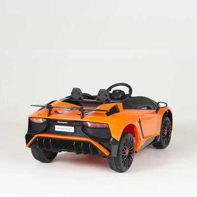 Lamborghini Aventador SV Roadster Licensed 1-SEATER 12v Kids Ride-On Car w/ Remote - Free Shipping