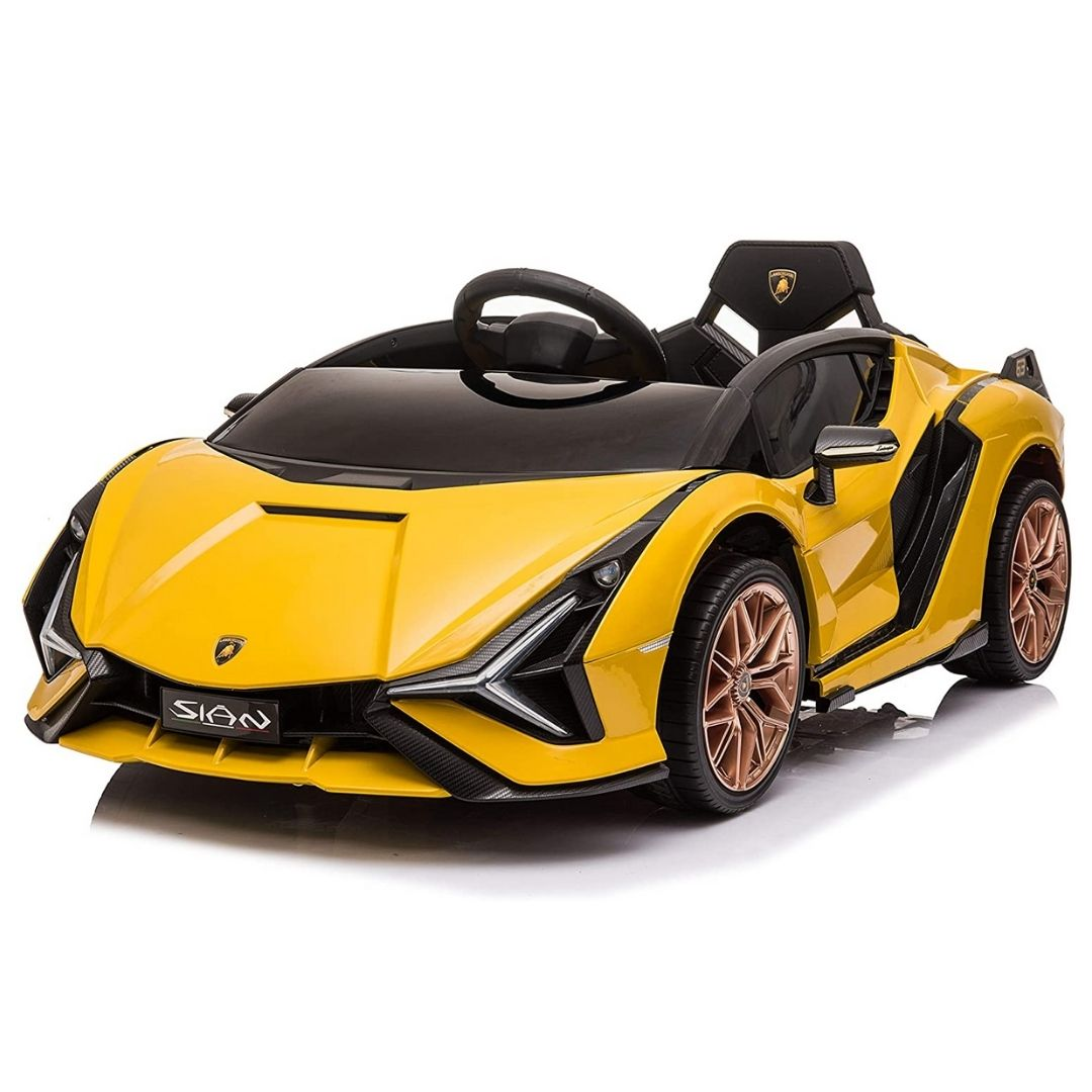 Lamborghini Sian 12V Kids Ride-On Car 1-Seater with Remote Control
