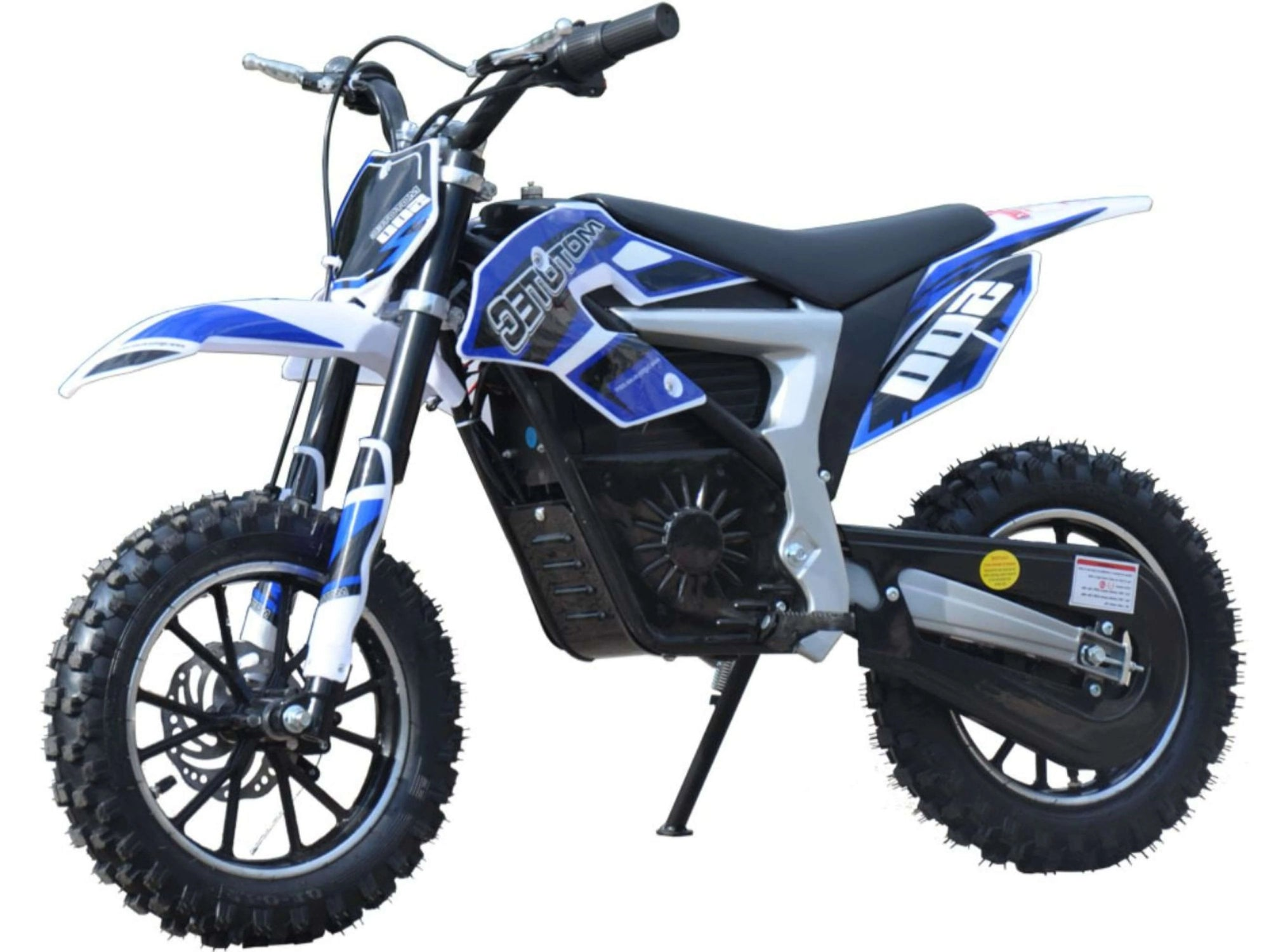 MotoTec 36v Pro 500w Lithium Powered Electric Dirt Bike in Blue