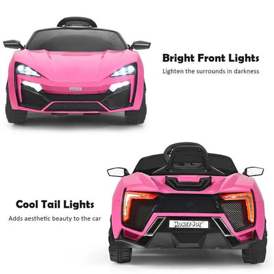 Lykan Hypersport Inspired 12V Electric Kids Ride-On Car with Remote Control