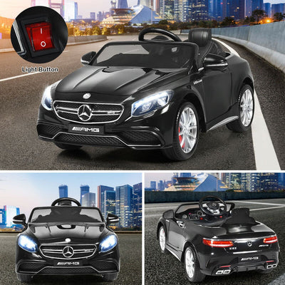 Mercedes Benz AMG S63 12v Kids Ride-on Car with Remote Control