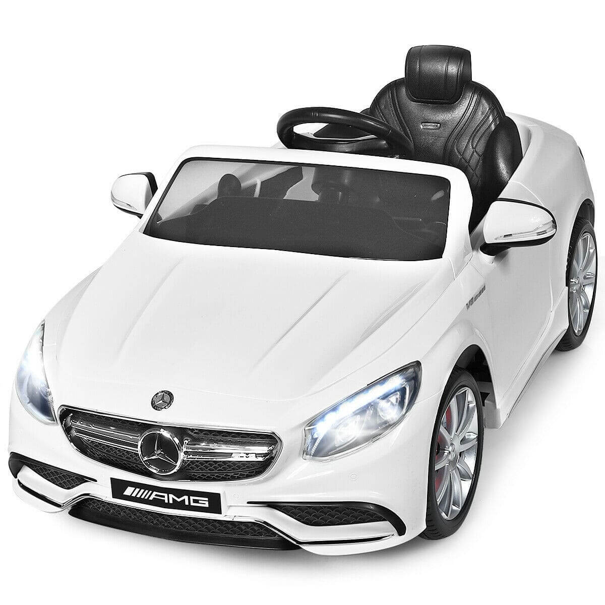 MERCEDES BENZ AMG S63 Licensed 12V KIDS ELECTRIC 1-SEATER RIDE-ON CAR - FREE SHIPPING