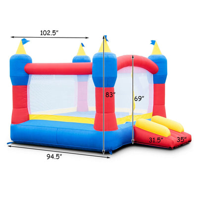 Magic Castle Inflatable Bounce House Without Blower
