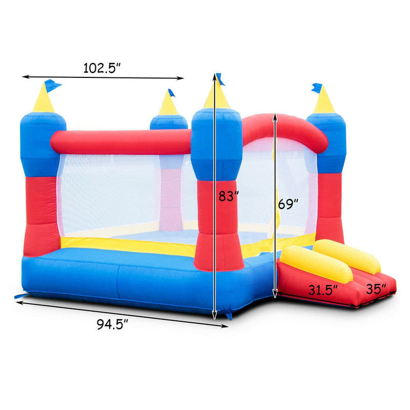 Magic Castle Inflatable Bounce House Without Blower - Free Shipping