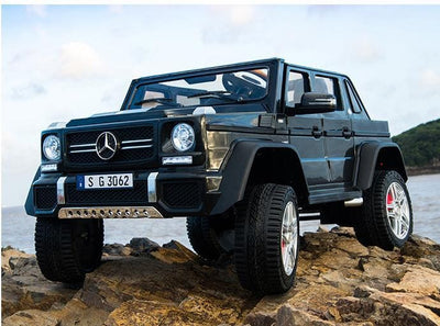 Mercedes-Maybach G650 Landaulet  AMG SUV Truck 2 Seater 24v Kids Electric Ride-on Car with MP4 and Remote Control