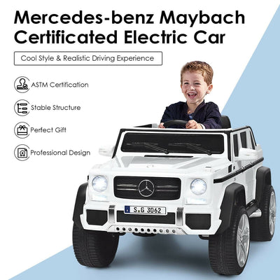 Mercedes-Maybach G650 Landaulet AMG SUV Licensed 12v Kids Electric Ride-on Car