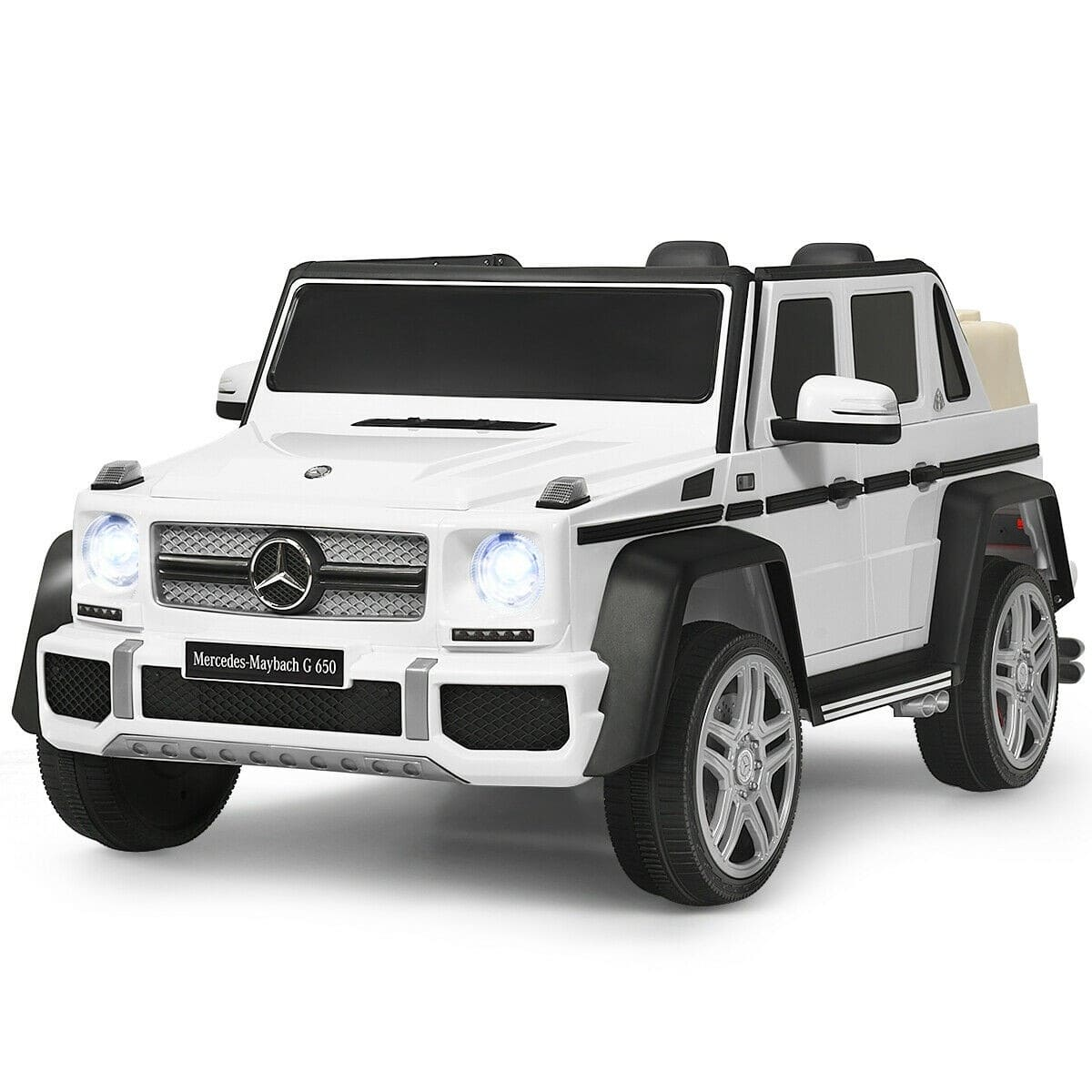 Mercedes Benz Maybach G650 AMG SUV Licensed 12v Kids Electric Ride-on Car - FREE SHIPPING