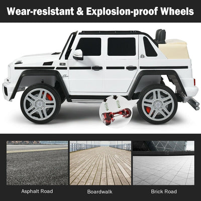 Mercedes Benz Maybach G650 AMG SUV Licensed 12v Kids Electric Ride-on Car