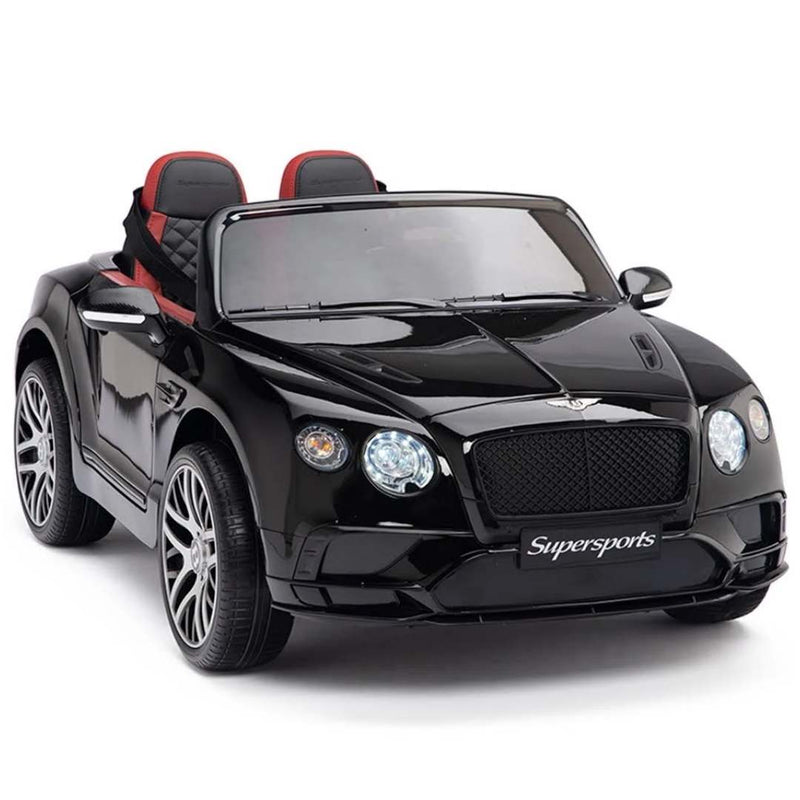 NEW BENTLEY CONTINENTAL SUPERSPORTS 1-SEATER 12V KIDS ELECTRIC RIDE-ON CAR WITH R/C PARENTAL REMOTE