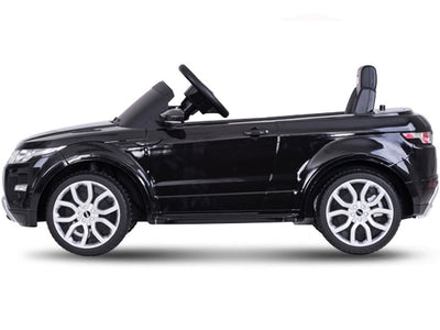 Range Rover Evoque Inspired 12v Kid's Ride-On Car SUV in Black - FREE SHIPPING