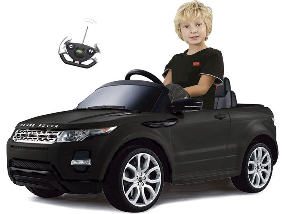Range Rover Evoque Inspired 12v Kid's Ride-On Car SUV in Black