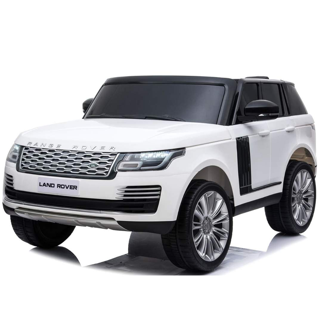 RANGE ROVER HSE LICENSED 12V RIDE-ON KIDS CAR SUV IN WHITE