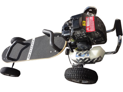 SkaterX 49cc Kid's Ride-On Skateboard Black