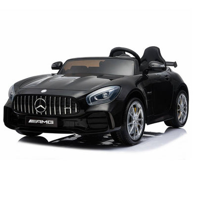 Upgraded 2-Seater Mercedes Benz AMG GT R Coupe 12V Kids Electric Ride-on Car