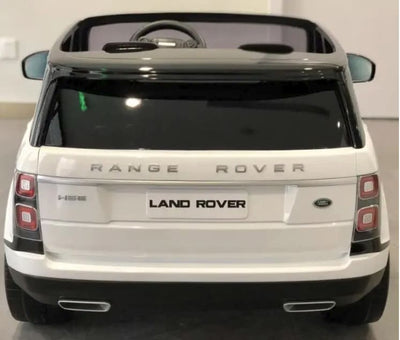 Range Rover Vogue 12V Ride-on Kids Car SUV in White