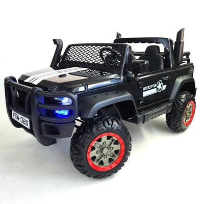 Upgraded 24V Custom Chevy Truck Style KID'S RIDE-ON TRUCK WITH Upgrade Seats and  REMOTE CONTROL