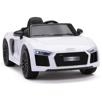 Upgraded Audi R8 Spyder 12V Electric Kids Ride-On Car with Remote Control