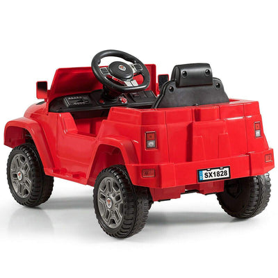 Battery Powered Kids Ride On Car with Remote Control Cars & SUVs Costway