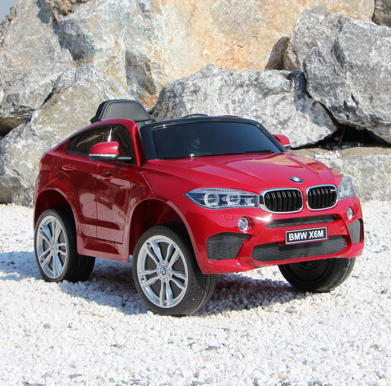 BMW x6 Inspired 12v Kids Ride On Car | Red Cars & SUVs Mini Motos