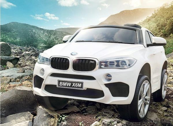 Bmw X6 Inspired 12v Kids Ride On Car Suv In White Kidcarshop