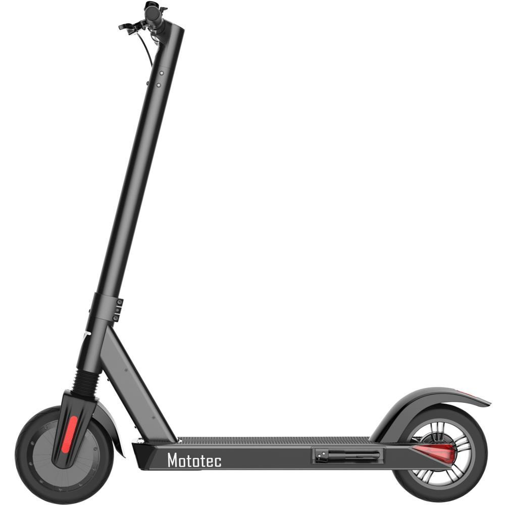 City Pro 36v 8ah 350w Lithium Kid's Ride-On Electric Scooter | Black Electric Scooter MotoTec