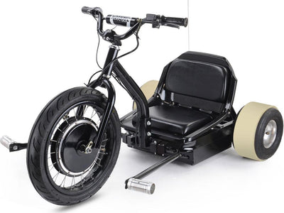 Drifter 48v Kid's Ride-On Electric Trike | Black Electric Trike MotoTec