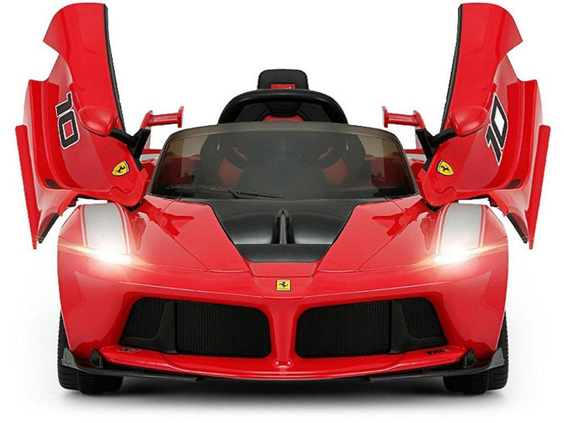 Ferrari LaFerrari Style 12V Kids Ride-On Car with MP3 and R/C Battery Powered Remote | Classic Red Cars & SUVs Rastar
