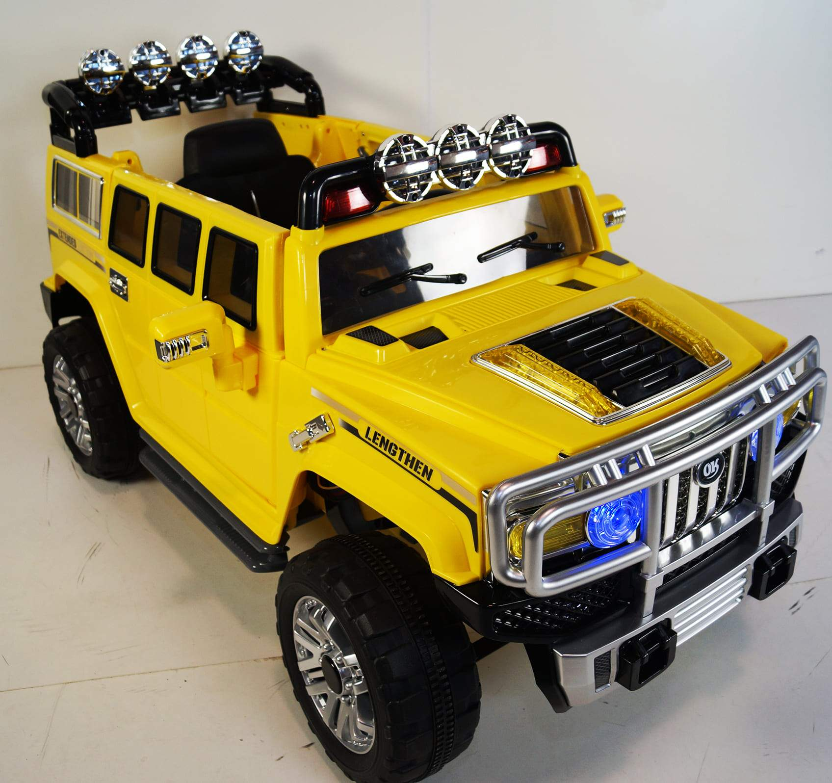 HUMMER H2 INSPIRED 12V KIDS ELECTRIC RIDE-ON CAR SUV WITH