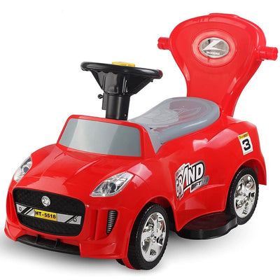 Kids Electric Ride On Car Toddler Push Car Stroller