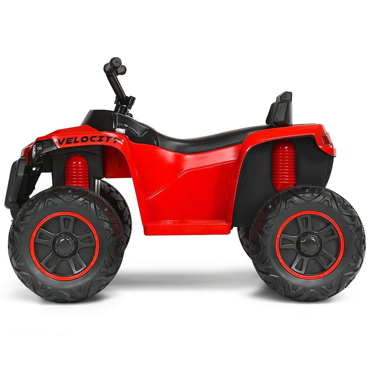 Kids 4-wheeler Quad ATV 12V Battery Powered Ride on Toy Quad Bikes & ATVs Costway