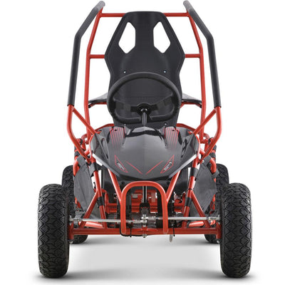 Kid's Electric Ride-On 36V Go Kart Maverick 1000w | Red Go Kart MotoTec