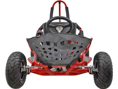 Kid's Electric Ride-On Go Kart 48v 1000w | Red Go Kart MotoTec