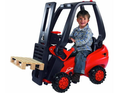 Kid's Ride-On Forklift Truck | RED Tractors Big