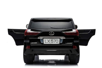 Lexus LX570 LICENSED 12V RIDE-ON KIDS CAR SUV | BLACK Cars & SUVs Mini Motos