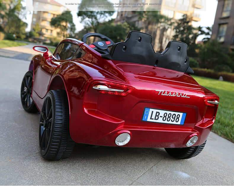MASERATI ALFIERI INSPIRED 12V RIDE-ON KIDS CAR | RED Cars & SUVs Mini Motos