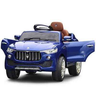 Maserati Levante 6V Licensed Kids Ride On Car with Remote Control - FREE SHIPPING Cars & SUVs Costway Blue