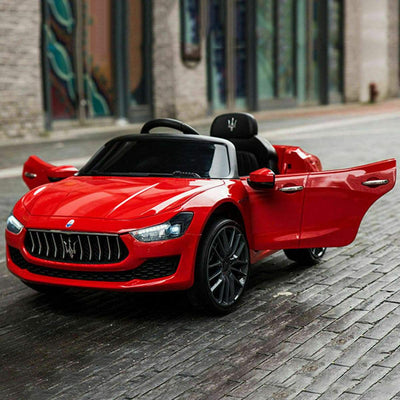 Maserati Quattroporte Licensed 12V Kids Ride On Car with Remote Control - FREE SHIPPING Cars & SUVs Costway