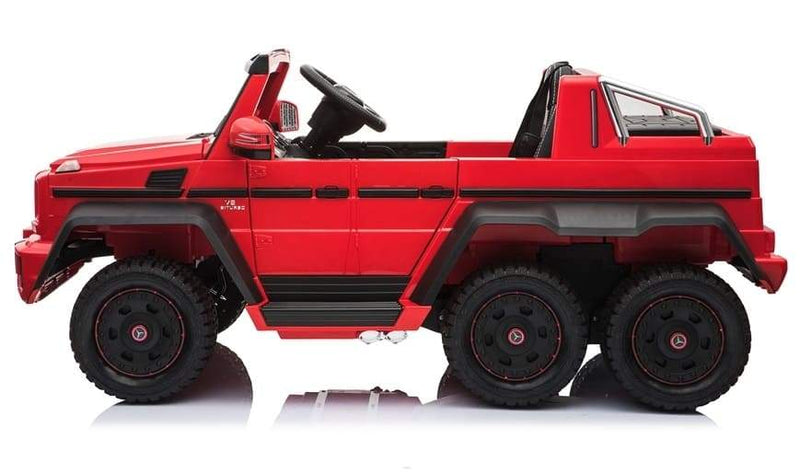 MERCEDES BENZ G65 AMG SX1888 6-WHEELS LICENSED 12V KIDS ELECTRIC RIDE-ON CAR | RED Cars & SUVs Mini Motos