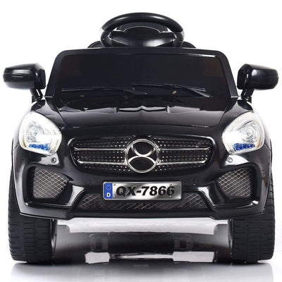 Mercedes Benz Inspired 6V Kids Electric Powered Ride On Car with Remote Control - FREE SHIPPING Cars & SUVs Costway Black
