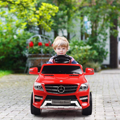 Mercedes Benz ML350 Licensed 6V Kids Ride on Car with Remote Control - FREE SHIPPING Cars & SUVs Costway