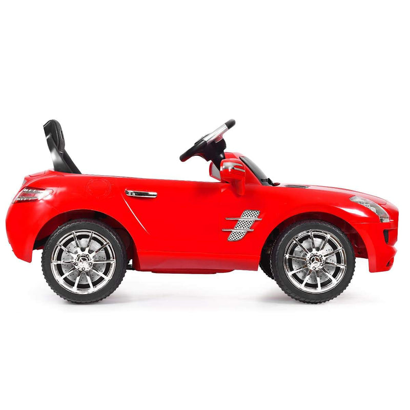 MERCEDES-BENZ SLS Licensed 6V KIDS RIDE ON CAR WITH MP3 AND REMOTE CONTROL | RED - FREE SHIPPING Cars & SUVs Costway