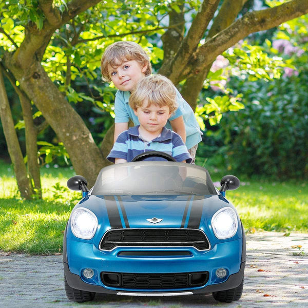 Mini Cooper Inspired 12V Electric Kids Ride-On Car With
