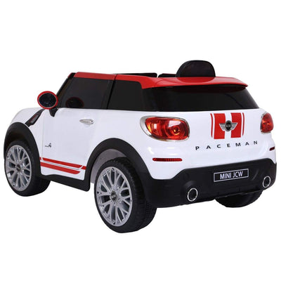 Mini Cooper Inspired 12V Electric Kids Ride-On Car with Remote Control Cars & SUVs Costway