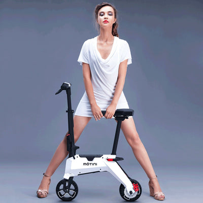 Motini Nano 36v 250w Lithium Kid's Ride-On Electric Scooter White Electric Scooter Motini