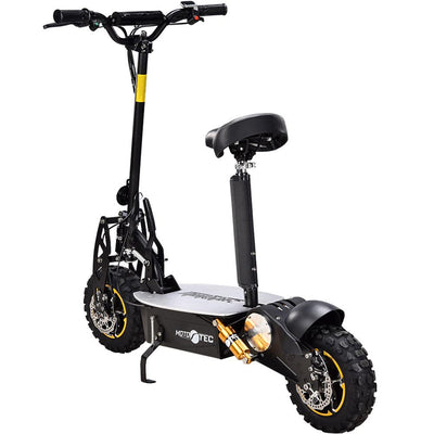 MotoTec 2000w 48v Kid's Ride-On Electric Scooter Black Electric Scooter MotoTec