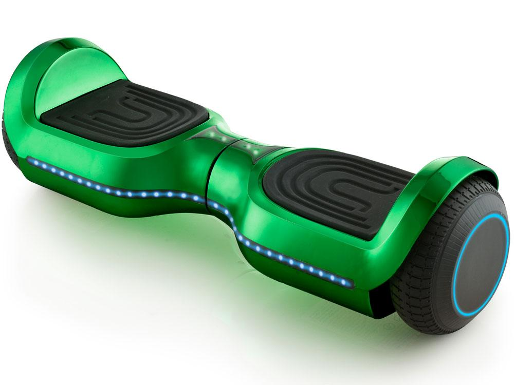 MotoTec Kid's Ride-On Hoverboard 24v 6.5in Wheel L17 Pro Green Hoverboard MotoTec